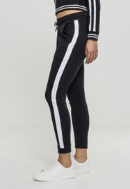 Urban classics Ladies Interlock Jogpants black white 2aa9366c84