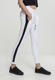 Urban classics Ladies Interlock Jogpants white black 9506c919b2