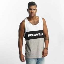 86c501945a Rocawear   Tank Tops Color Block in white